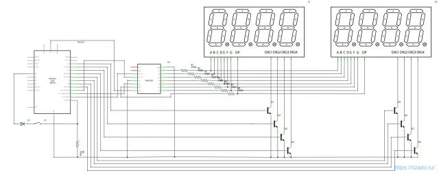Arduino с дисплеем