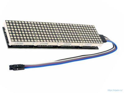 Светодиодная матрица с контроллером