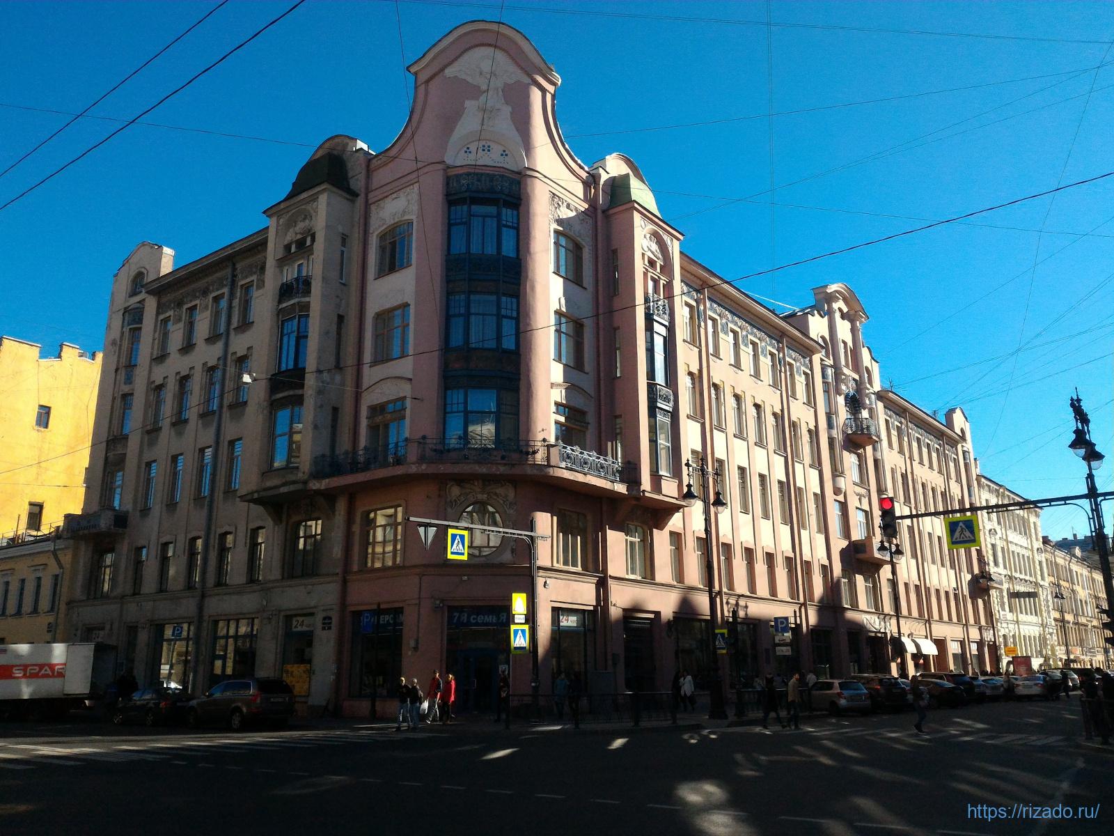 Улица Восстания, Ленинград
