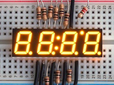 7-сегментный индикатор