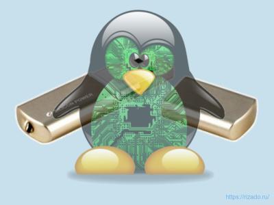 ЗагрузочнаЗагрузочная флешка с Linuxя флешка с Linux